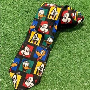 NEW! Vintage Disney Characters Neck Tie. New w/tag